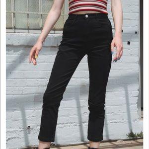 black jane pants